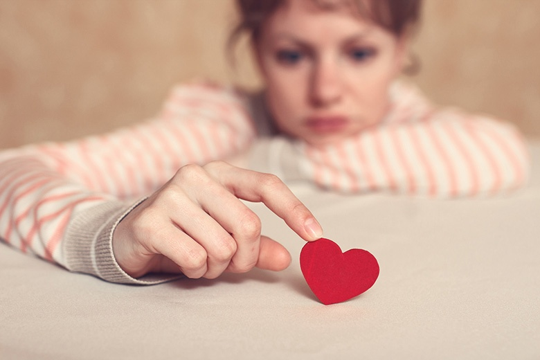 Infortunio d'amore. Lista di controllo di auto-aiuto
